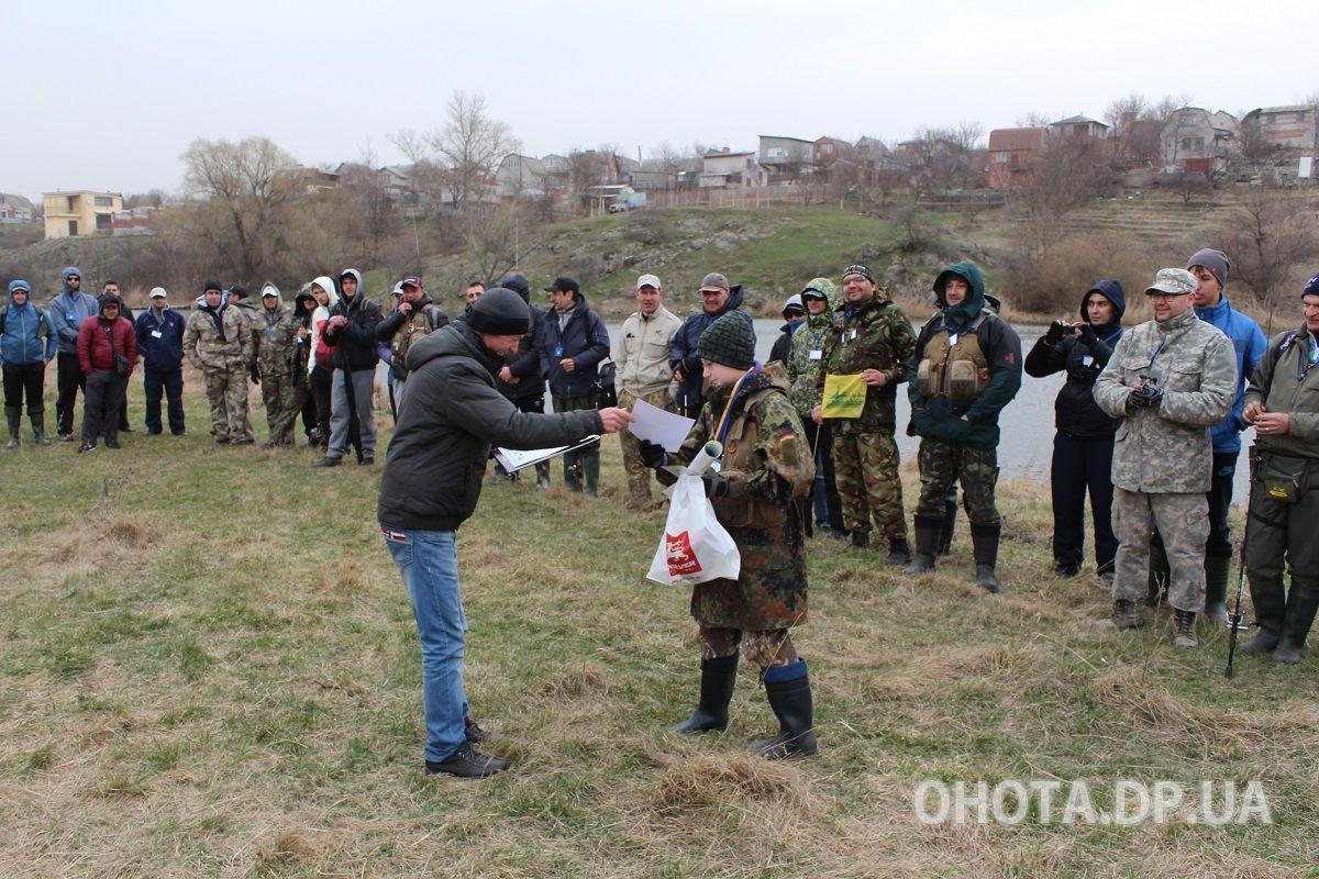 Дмитрий Бабичев получил 3 место на рыболовном фестивале