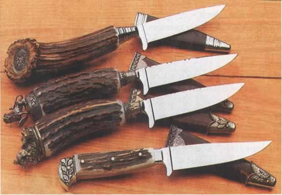 Рукоятка для ножа из рогов своими руками