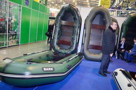 выставка лодки и рыбалка
